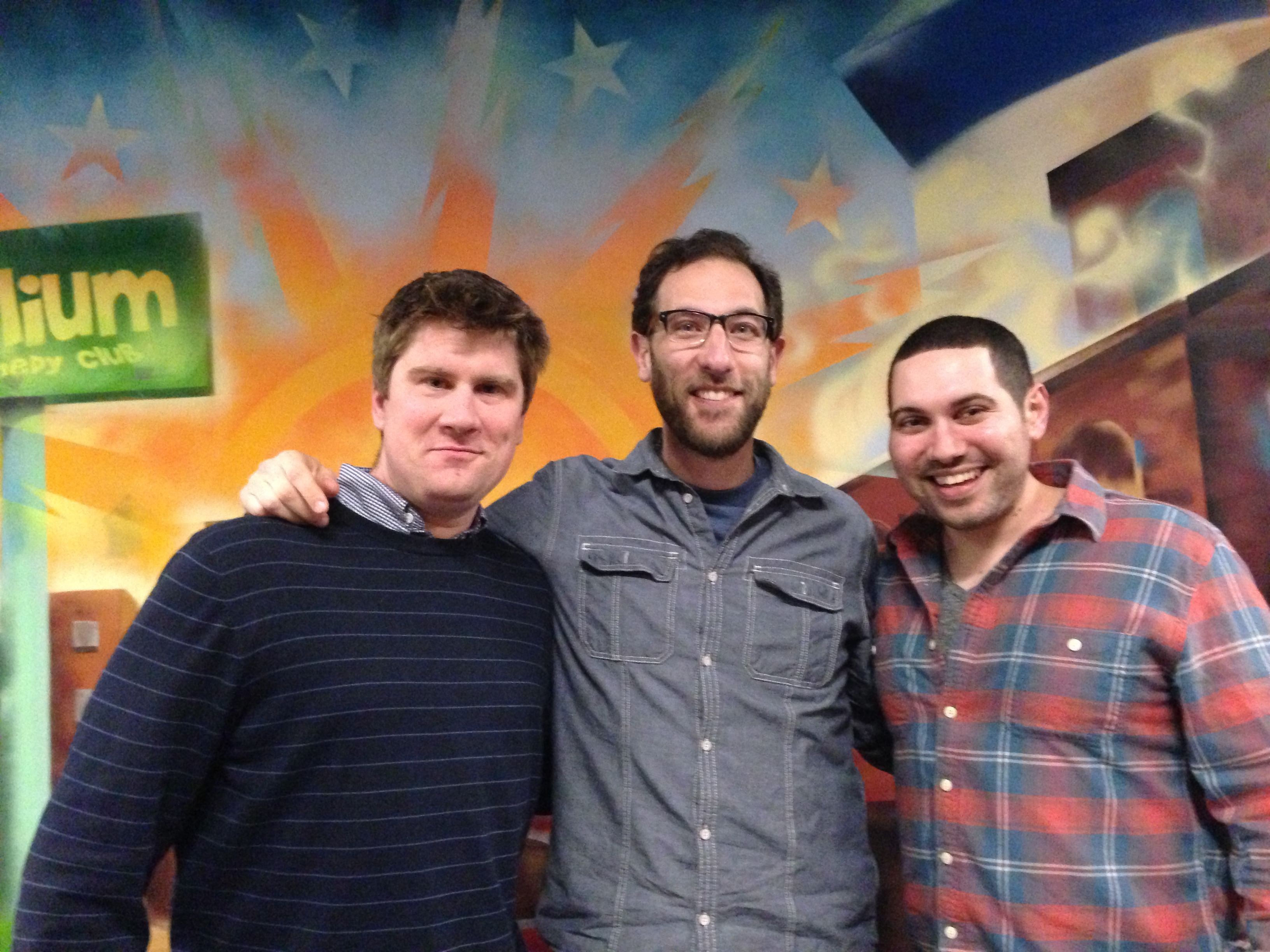 Ari Shaffir and Dario Joseph.JPG